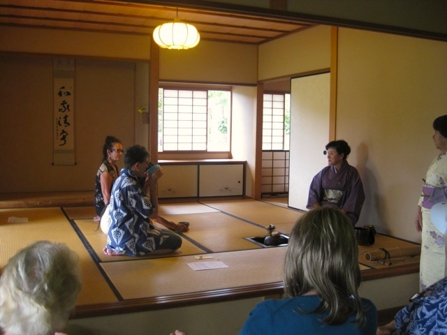 Japanese tea ceremony, Liliuokalani Gardens