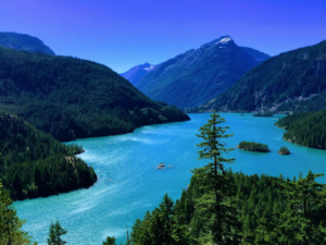 diablo lake cascade mountains